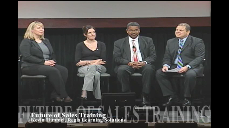 The Future of Sales Training(Oct, 2009)
