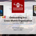 Cross-Matrix Onboarding