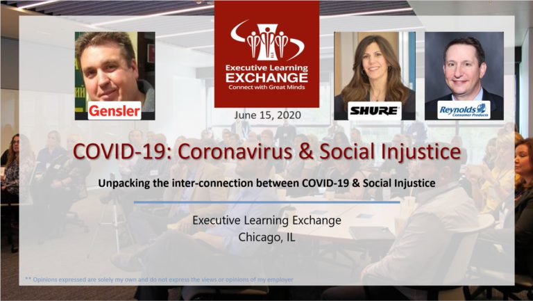COVID-19 Learning Circle #6: Coronavirus & Social Injustice