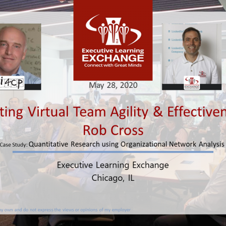 Accelerating Virtual Team Agility & Effectiveness